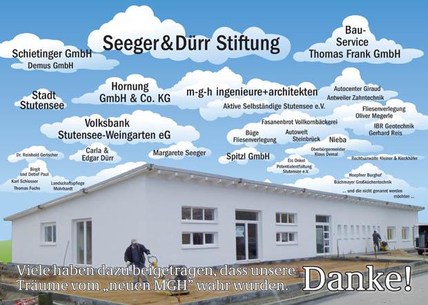 Förderer Neubau MGH Bürgerwerkstatt Stutensee