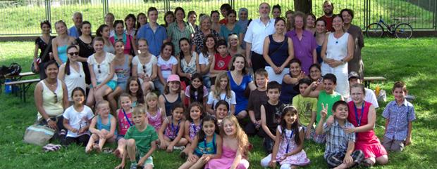 Sommerfest der Sprachfördergruppen